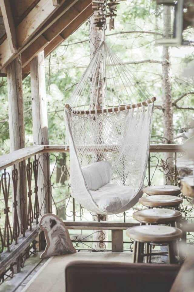 First let's talk about one of the more popular varieties of these chairs – the hanging hammock.