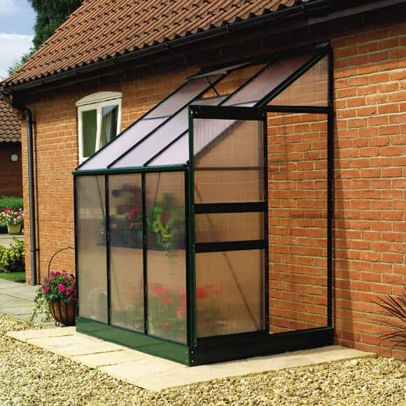 Practical Gardening With A Lean To Greenhouse