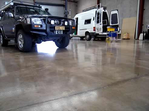 Epoxy Shield Garage Floor Sealer