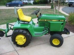 john deere 318 tractor