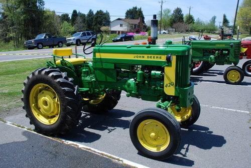 John Deere 420 Tractor