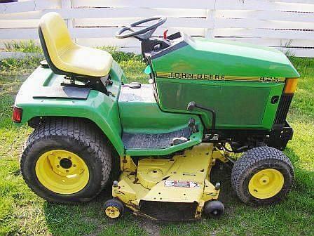 john deere 425 lawn & garden tractor