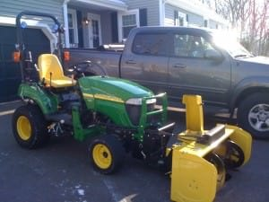 tractor mounted blower