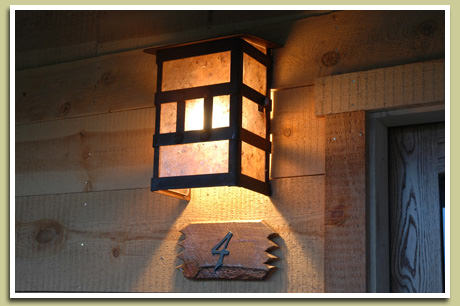 Rustic Outdoor Lighting For Your Cabin - YARD SURFER