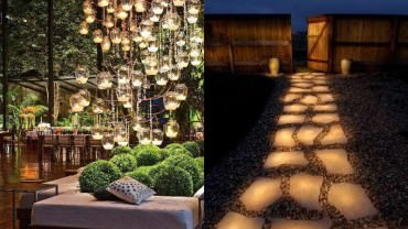 Backyard lighting ideas on YardSurfer