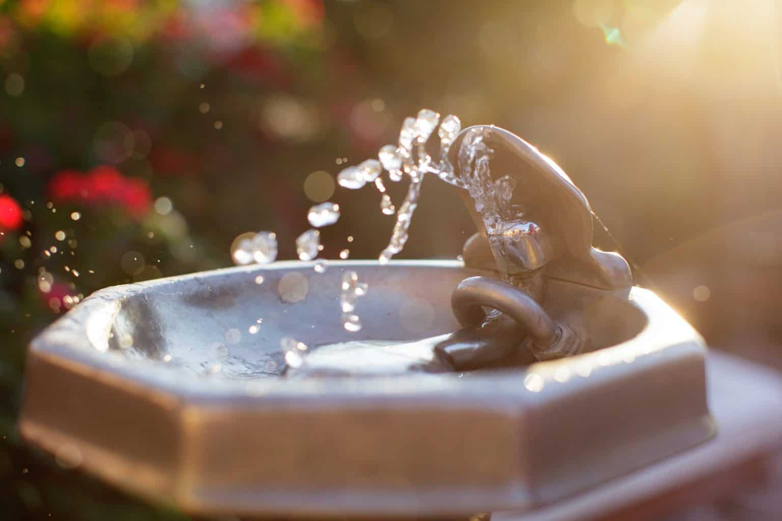 The Tranquility Of A Solar Water Fountain