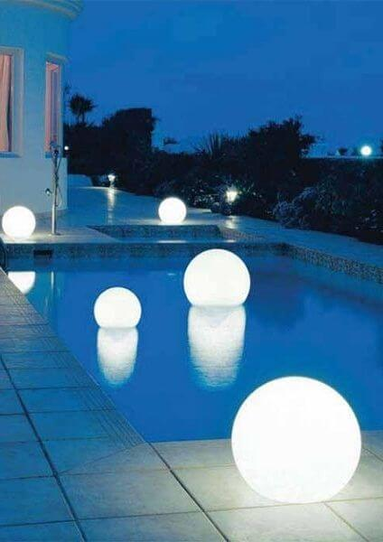 If you have a pool or pond in your backyard, there is an easy way to add backyard lighting to these locations too.