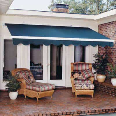 Sunlight Protection With A Deck Canopy