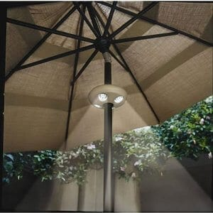 patio umbrella lights yard surfer