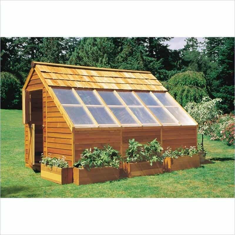Wooden Greenhouses: Plans, Designs & Ideas