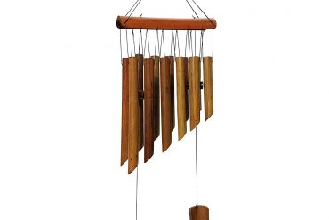 12 Tubes Double Antique Nature Bamboo Feng Shui Wind Chime