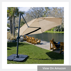Coolaroo Cantilever Umbrella, Freestanding Patio Umbrella