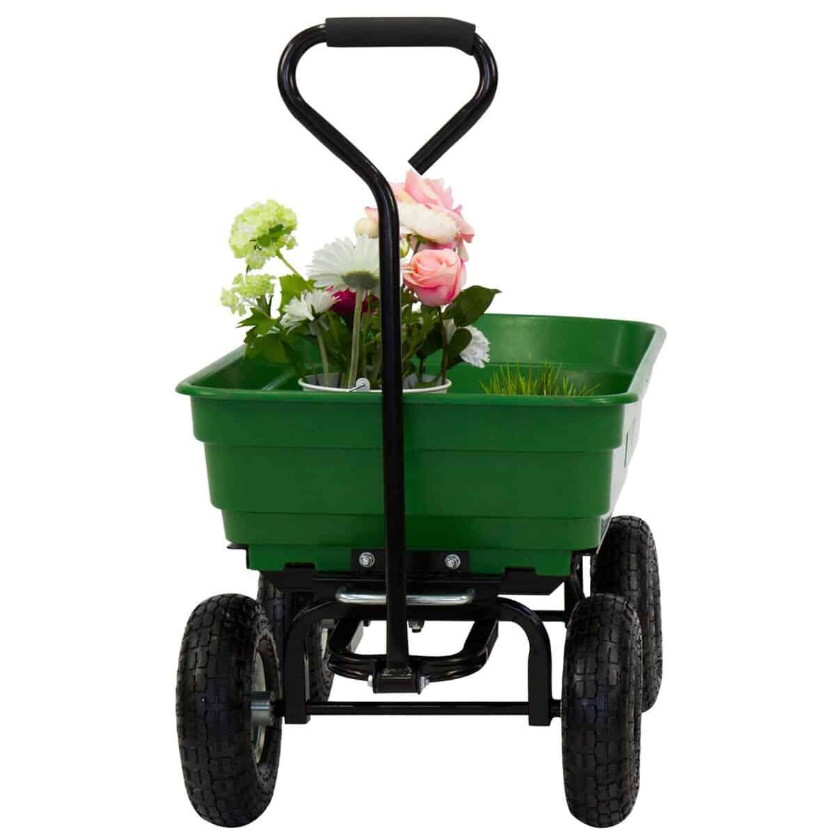 Duraworx Plastic Dump Cart