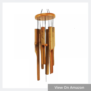 Beautiful Sound of Bamboo Wind Chimes