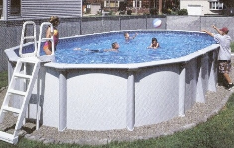 Guide to Above Ground Pool Deck | Ladders