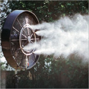 outdoor misting fan