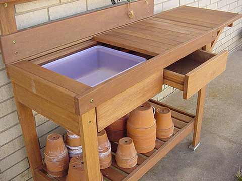 Gardening with Potting Benches