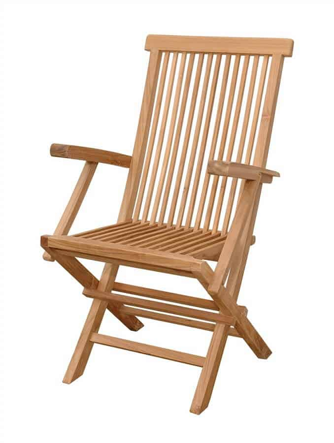 Types of Wooden Folding Chairs - YARD SURFER