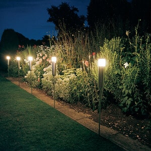Solar Yard Lighting