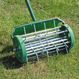 Spiking Aerator Shoes for Aerating the Lawn