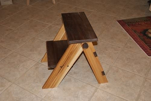 Woodwork Wooden Folding Step Stool Plans Pdf Plans