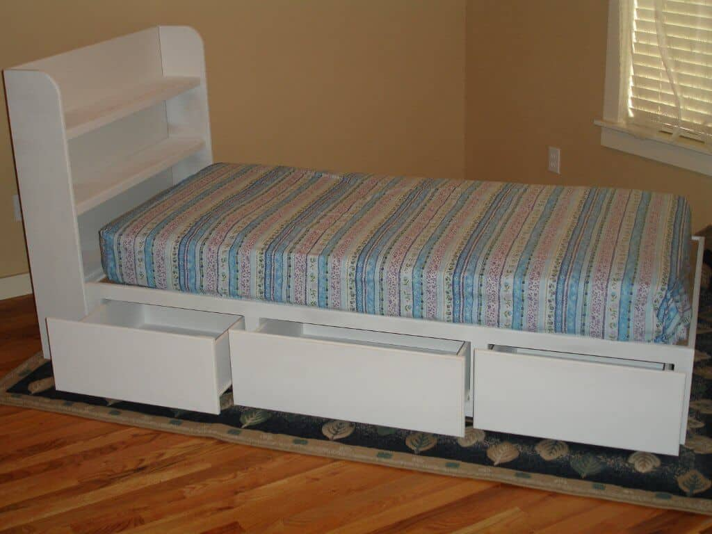 Captains Bed Woodworking and Furniture Plans