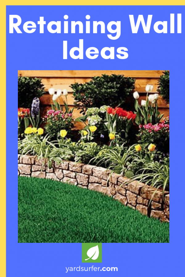 Retaining Wall Ideas Yard Surfer