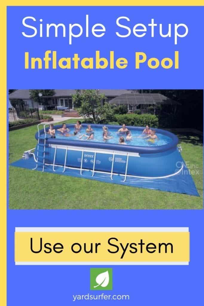 Simple Setup Inflatable Pools