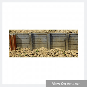 Flexible Timber Retaining Wall