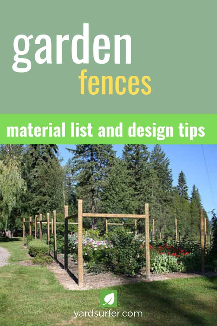 Garden Fence Materials and Design Tips