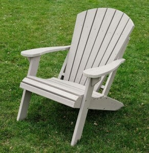 Pdf diy how to build your own adirondack chair download for Chaise adirondack bois