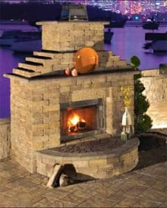 What Are Outdoor Fireplace Kits