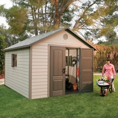 Lifetime Plastic Sheds For Your yard