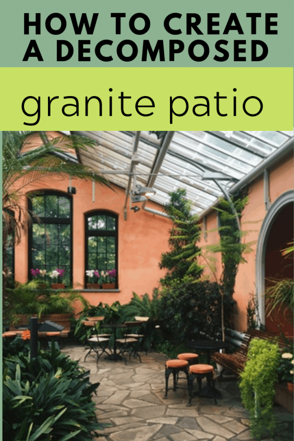 How To Create A Decomposed Granite Patio