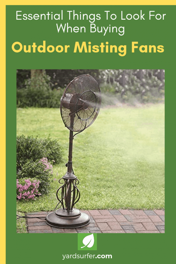 Essential Things To Look For When Buying Outdoor Misting Fans