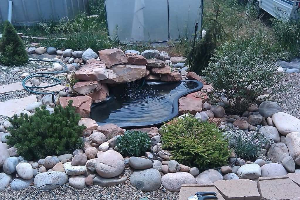 preformed garden pond ideas photograph preformed pond wate