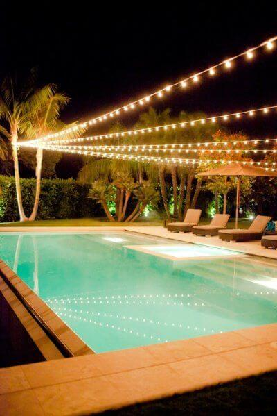 Backyard Pool Decor Seating Areas