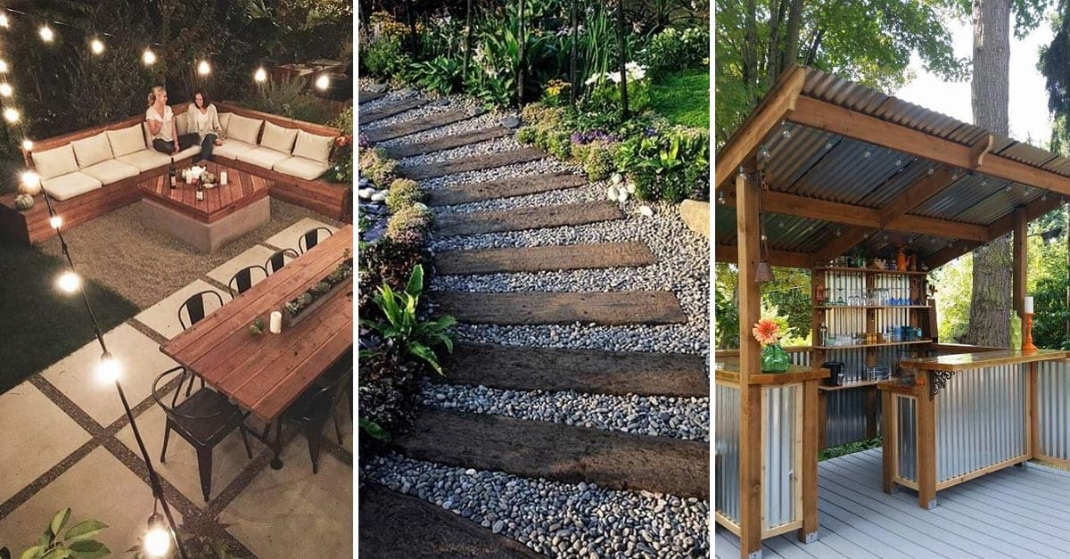 20 Amazing Backyard Ideas That Won't Break The Bank - YARD ...