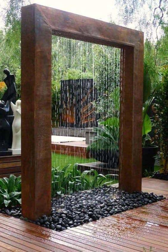 Check out this amazing landscaping idea for a backyard or front yard