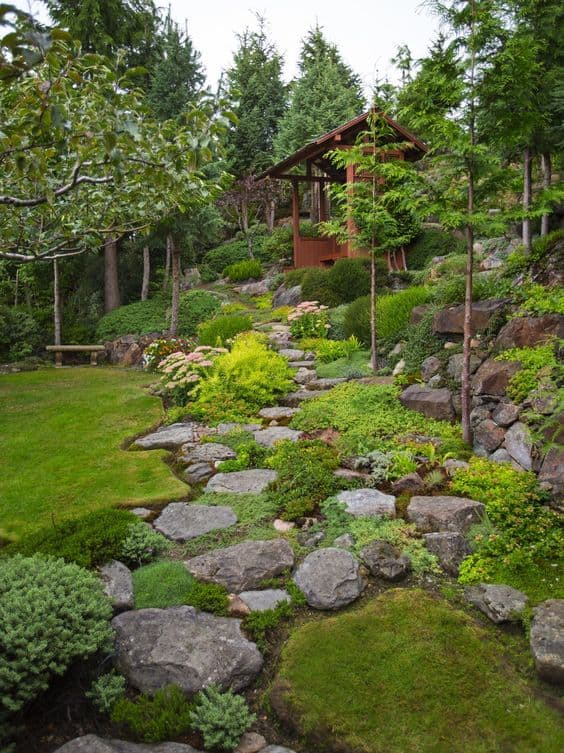 30 beautiful backyard landscaping design ideas page 29 for Beautiful yard landscapes