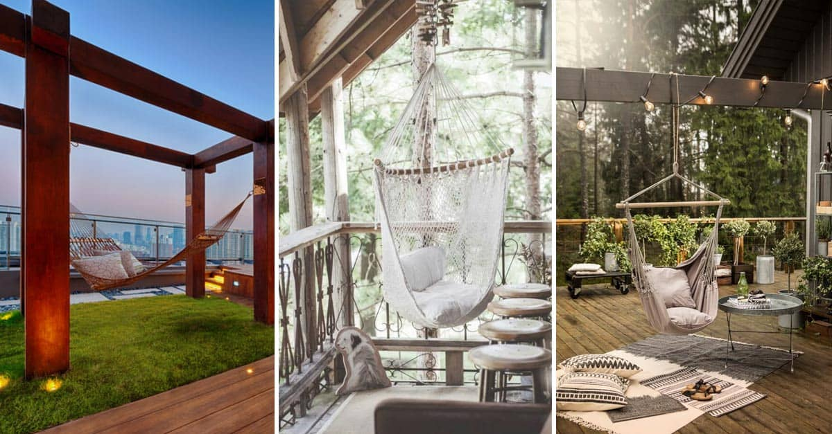 Top 11 Most Amazing Hanging Chair Ideas