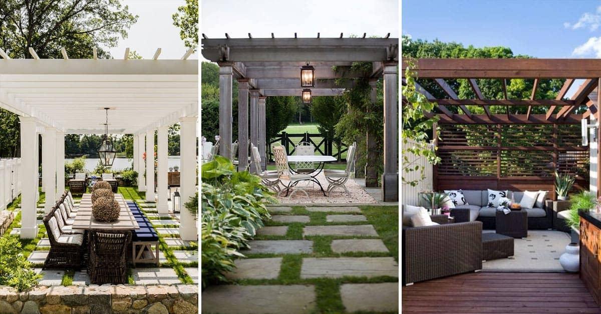 14 Amazing Backyard Pergola Ideas