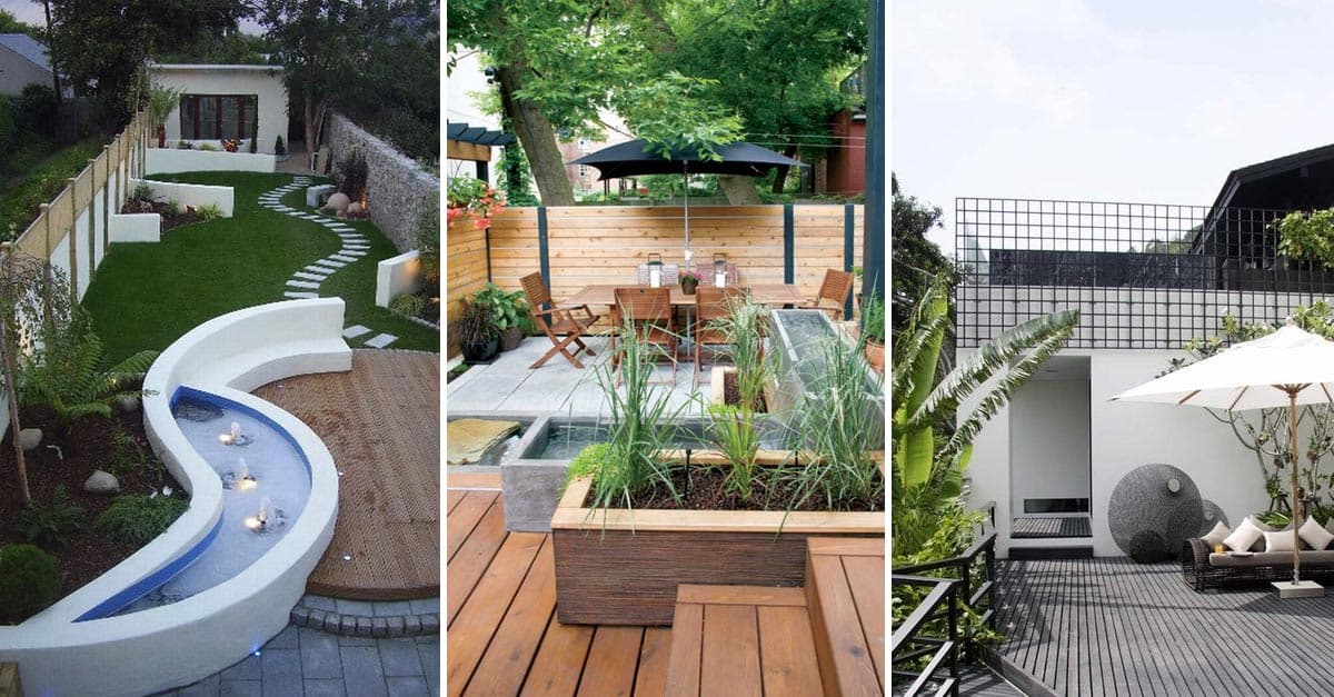 15 Fabulous Small Patio Ideas To Make Most Of Small Space: 25 Fabulous Small Area Backyard Designs