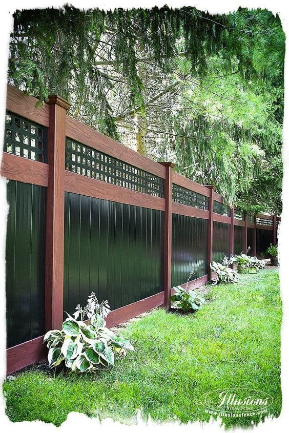 20 Beautiful Fence Designs and Ideas - Page 10 of 20 ... on Backyard Fence Landscaping Ideas id=66167