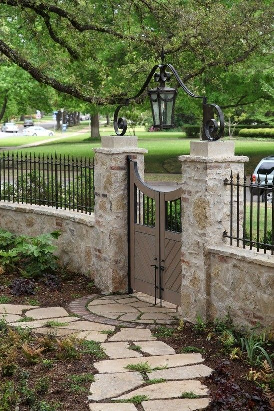 20 beautiful fence designs and ideas page 17 of 20 for Short garden fence designs
