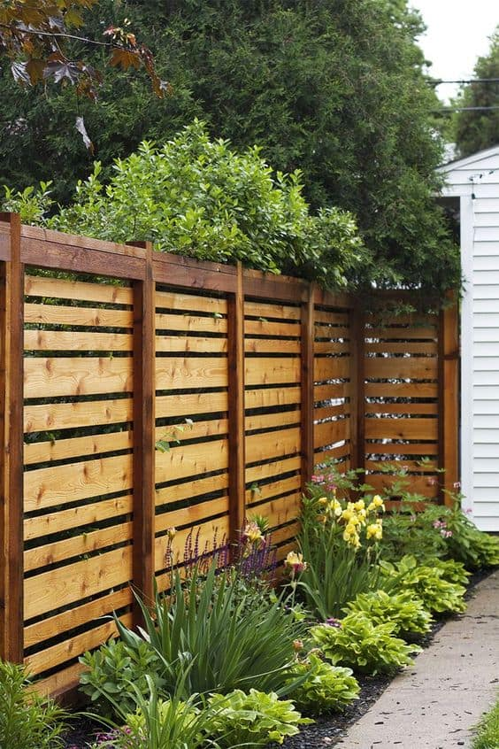 20 beautiful fence designs and ideas page 6 of 20 yard