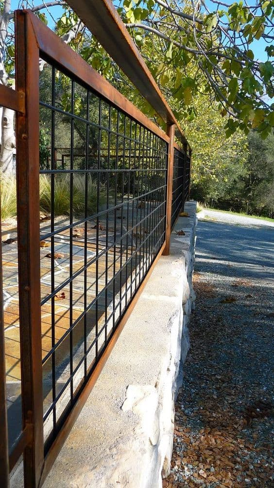 20 Beautiful Fence Designs And Ideas Page 9 Of 20 Yard