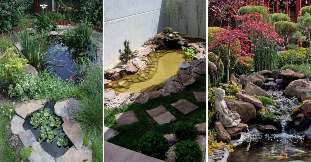 20 Amazing Pond Ideas For Your Backyard