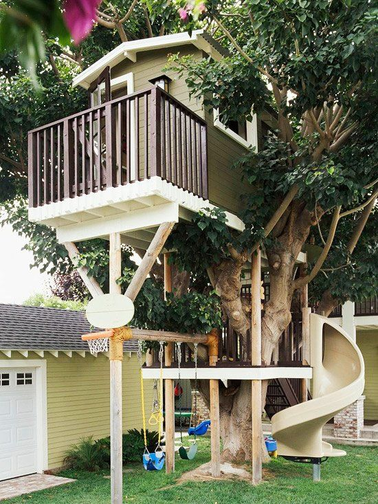 Check out these beautiful tree houses you can build on your garden.