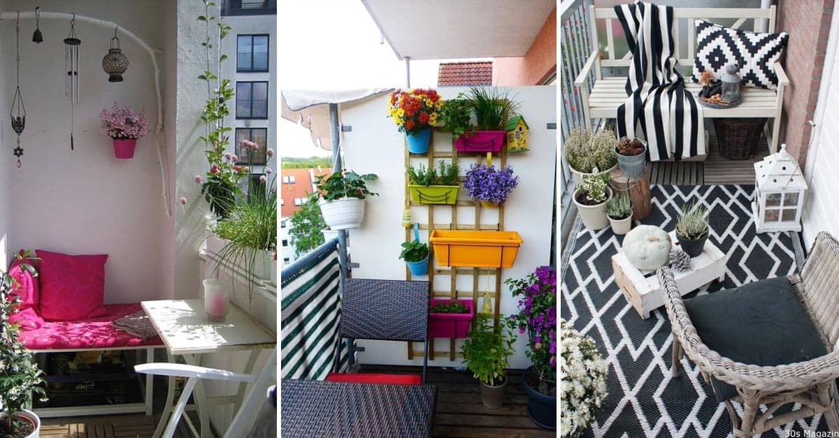 13 Stunning Balcony Decorating Ideas